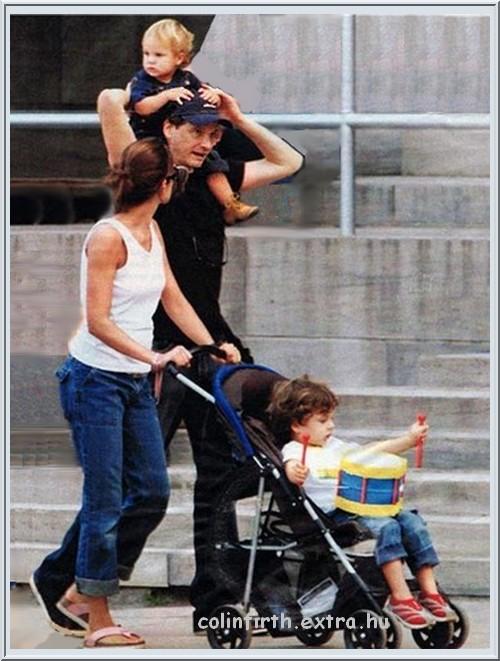 колин ферт жена и дети фото