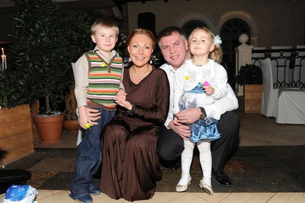Наталья Бочкарева с бывшим супругом
