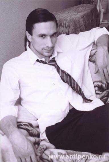 Григорий Антипенко в молодости