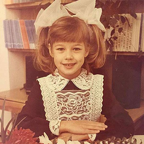 Катерина Шпица в детстве