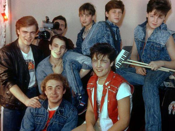 юрий шатунов в молодости фото