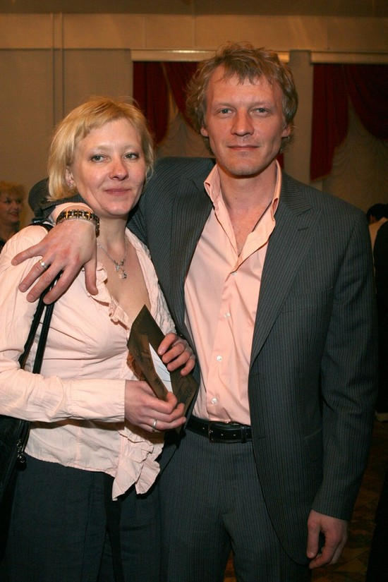 алексей серебряков фото с женой
