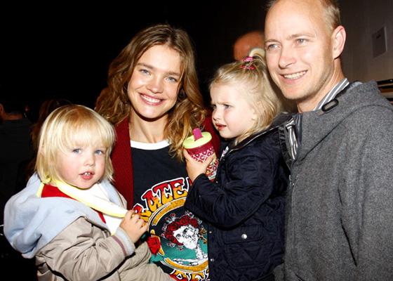 наталья водянова и её дети фото