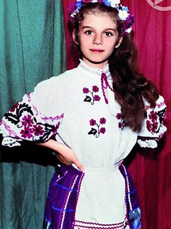 Анна Седакова в детстве